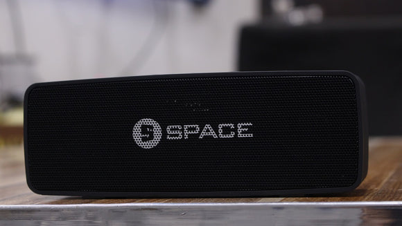 SPACE ECHO EC-802 - Portable Wireless Speaker - Black - Saamaan.Pk