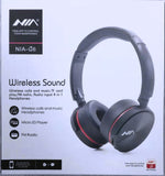 Nia Q6 Bluetooth Wireless Headphone - Saamaan.Pk