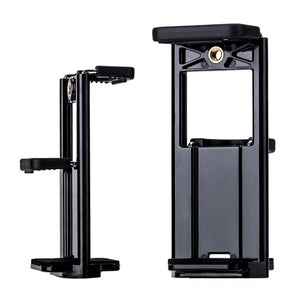 Yunteng Ipad + Phone Tripod Mount Holder 2 in 1, Universal Smartphone And Tablet Mount - - Saamaan.Pk