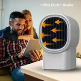 500W Portable Mini Electric Heater Fan Handy Air Warmer Silent Winter Home Office