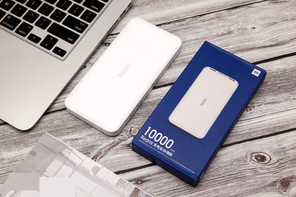 Xiaomi Redmi 10000mAh PB100LZM Dual Output & Input Micro-USB & Type-C Power Bank Standard Version - Saamaan.Pk