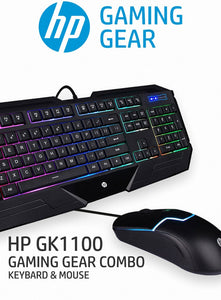 HP GK1100 GAMING KEYBOARD & MOUSE by HP - Saamaan.Pk