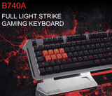 A4Tech Bloody B740A Light Strike Mechanical Gaming Keyboard - Saamaan.Pk