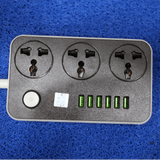 Ldnio 6 USB 3 Power Socket - Saamaan.Pk