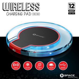 SPACE WIRELESS CHARGING PAD WC-140 - Saamaan.Pk
