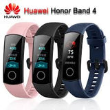 "Original Honor Band 4 Smart watch Wristband Amoled Color 0.95"" Touchscreen Heart Rate Monitor Waterproof Fitness bracelet - Saamaan.Pk"