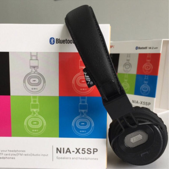 NIA-X5SP headphone and speaker - Saamaan.Pk