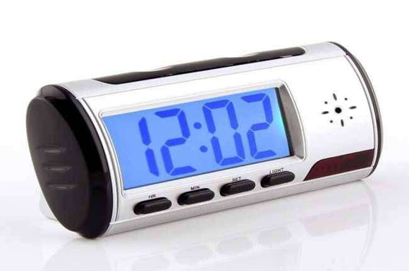 Multi Function Clock (Spy Camera Clock) - Saamaan.Pk