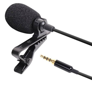 Lavalier 5 Meter Long Mic For Smart phones Mobile PC Laptop Pro Wired Mic 3.5mm Microphone Collar for Voice Recording Lapel Mic For DSLR Recorder
