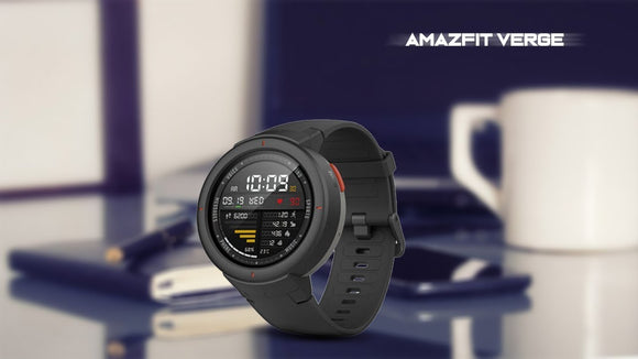 AMAZFIT Verge Smart Watch Xiaomi - 1 Year Warranty. - Saamaan.Pk