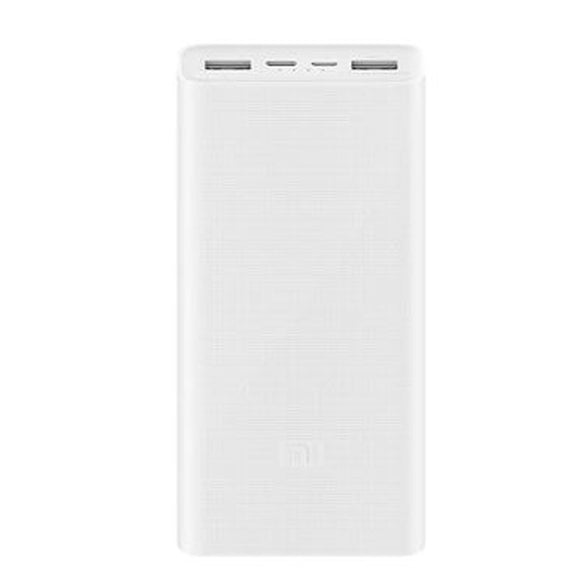 New Xiaomi Mi Power Bank 20000mAh 3 PLM18ZM USB-C Two-way Fast Charging Dual USB 20000 mAh Powerbank - Saamaan.Pk