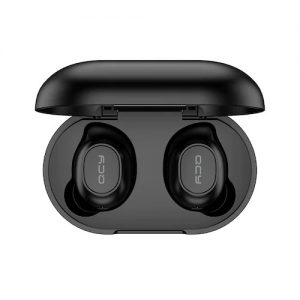 QCY T9S TWS bluetooth 5.0 Earphone Gaming Headphone Low Latency Stereo Wireless Earbuds Black