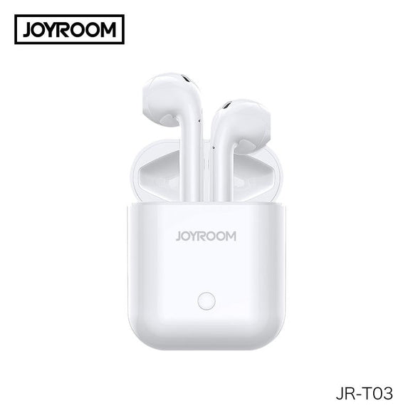 JOYROOM Bluetooth 5.0 Bluetooth Headphones TWS Wireless Earbuds Earphones - Saamaan.Pk
