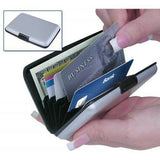 Security Credit Card Wallet - Black - Saamaan.Pk