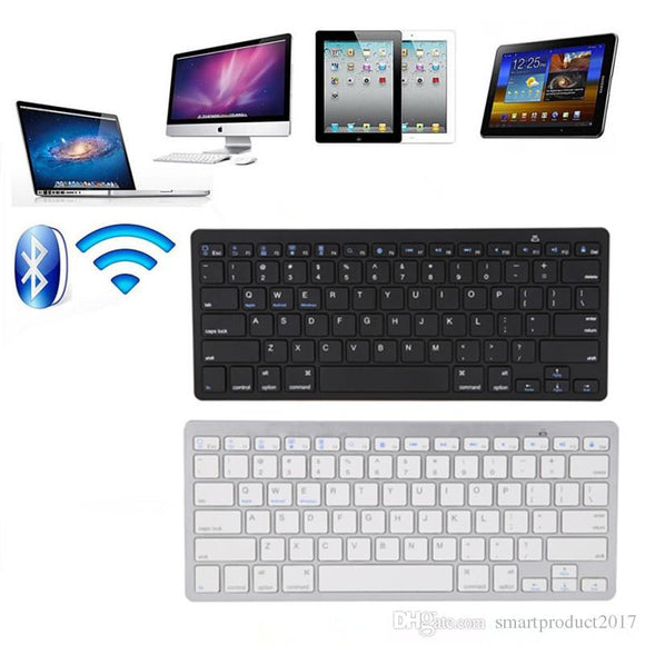 Mini Wreless Keyboard 2.4Ghz Bluetooth Keyboards for iPad Tablet PC Macbook Mac Windows IOS Keyboards - Saamaan.Pk