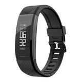 Infinix Smart Band step count, Sleep monitor XB04 (2019) Black - Saamaan.Pk