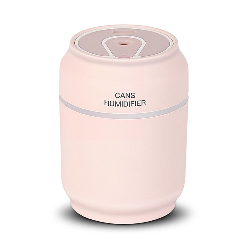 Family creativity three in one cans humidifier for home quiet office bedroom car mini USB humidifier ultrasonic air atomizer - Saamaan.Pk