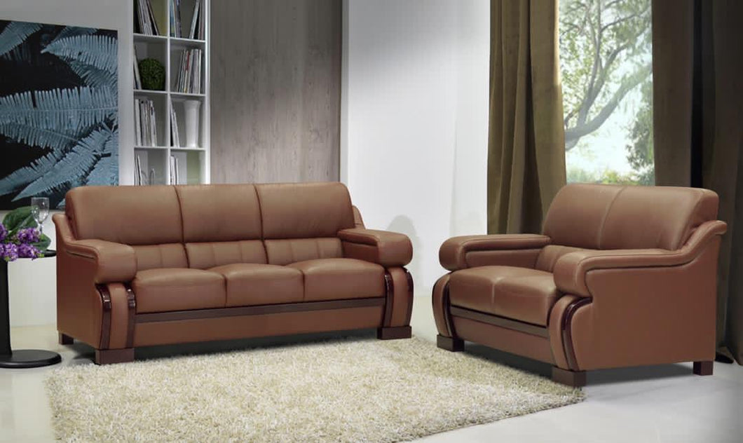 Bravo leather sofa set