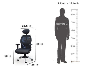 Dynamic work chair