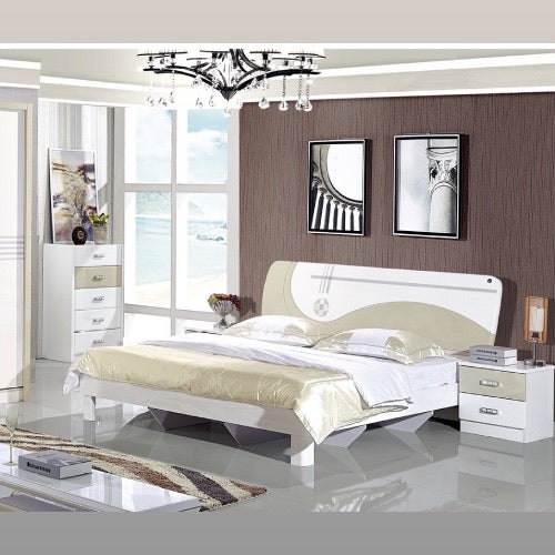 hydraulic bed with storage inside metallic paint bed