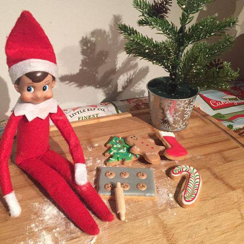 Elf on a Shelf Cookie Set
