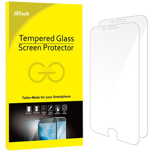 JETech Tempered Glass Screen Protector Apple iPhone 6/6s Smartphone Scratch Resistant