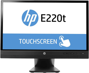 "22"" HP EliteDisplay E220t Touch Monitor"