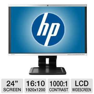 "24"" HP Compaq LA2405wg Widescreen LCD Monitor"