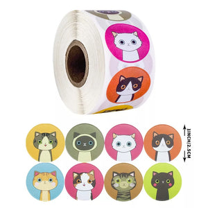 Cat Sticker Roll