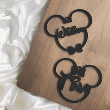 Load image into Gallery viewer, Mickey/Minnie Ornament
