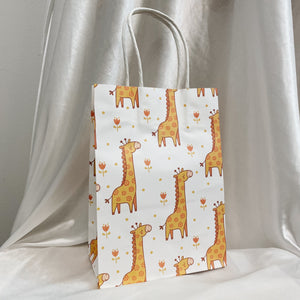 Giraffe Gift Bag (5pcs)