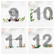 Load image into Gallery viewer, Customised Floral Cards (50pcs/100pcs)