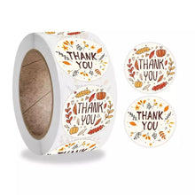 "Load image into Gallery viewer, ""Thank You"" Sticker Roll"