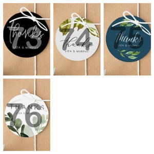 Customised Square Tags (50/100pcs)