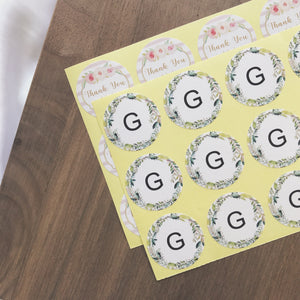 Customised Circle Stickers (50/100pcs)