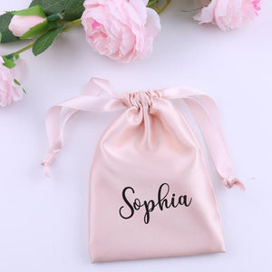 Satin Pouch + 1-Side Mirror Bundle