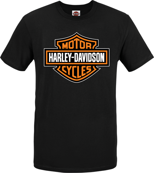 H-D Bar and Shield Men's Short Sleeve T-Shirt