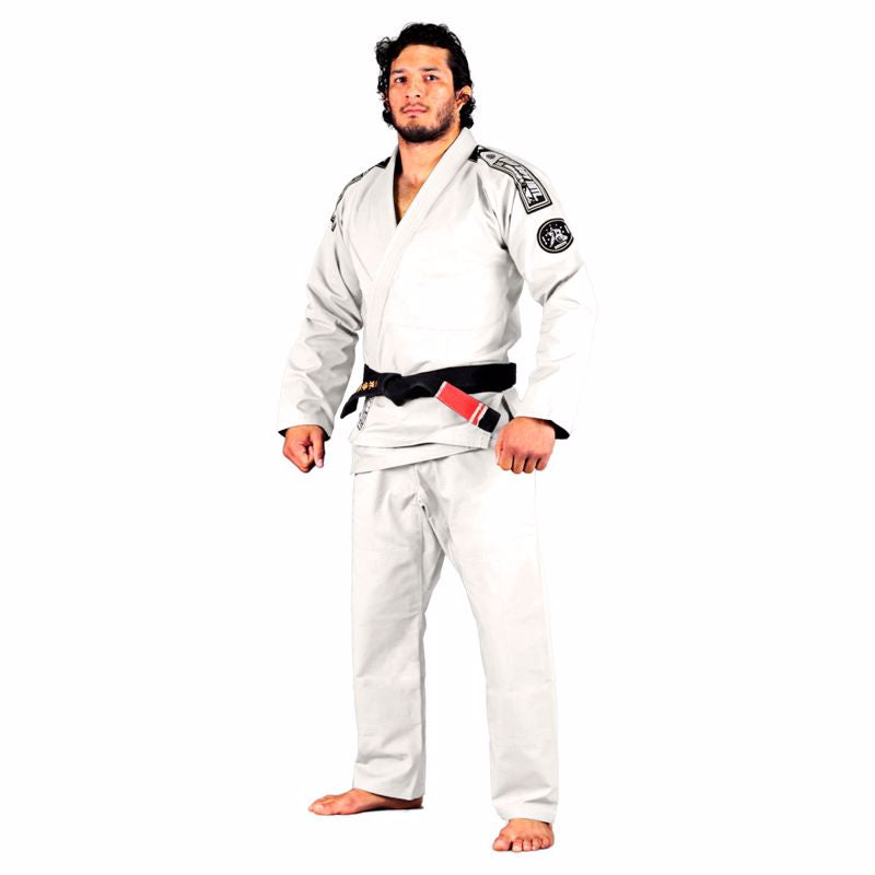 BAD BOY FOUNDATION BJJ GI - WHITE - karavasgym