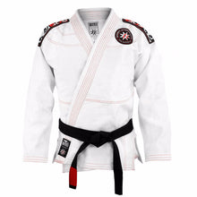 Load image into Gallery viewer, BAD BOY SHURIKEN PRO SERIES BJJ GI - WHITE - karavasgym