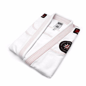 BAD BOY SHURIKEN PRO SERIES BJJ GI - WHITE - karavasgym