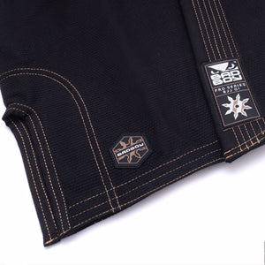 BAD BOY SHURIKEN PRO SERIES BJJ GI - BLACK - karavasgym