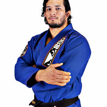 Load image into Gallery viewer, BAD BOY SAI TRAINING SERIES BJJ GI - BLUE - karavasgym