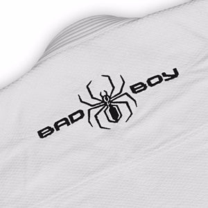 BAD BOY SPIDER BJJ GI - WHITE - karavasgym
