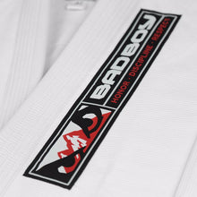 Load image into Gallery viewer, BAD BOY GROUND CONTROL BJJ GI - WHITE - karavasgym