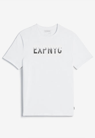 EXP nyc textured graphic t-shirt