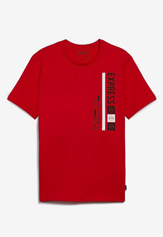 express logo graphic t-shirt