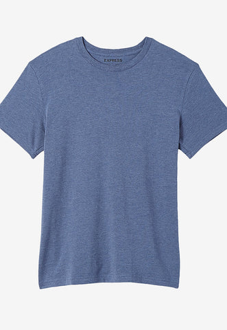Heathered Supersoft Crew Neck Tee
