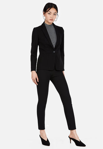 mid rise stretch skinny pant