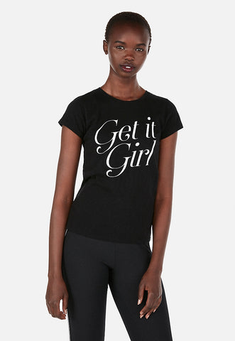 express one eleven get it girl slim graphic tee