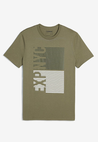 Exp Nyc Ladder Graphic Crew Neck T-Shirt